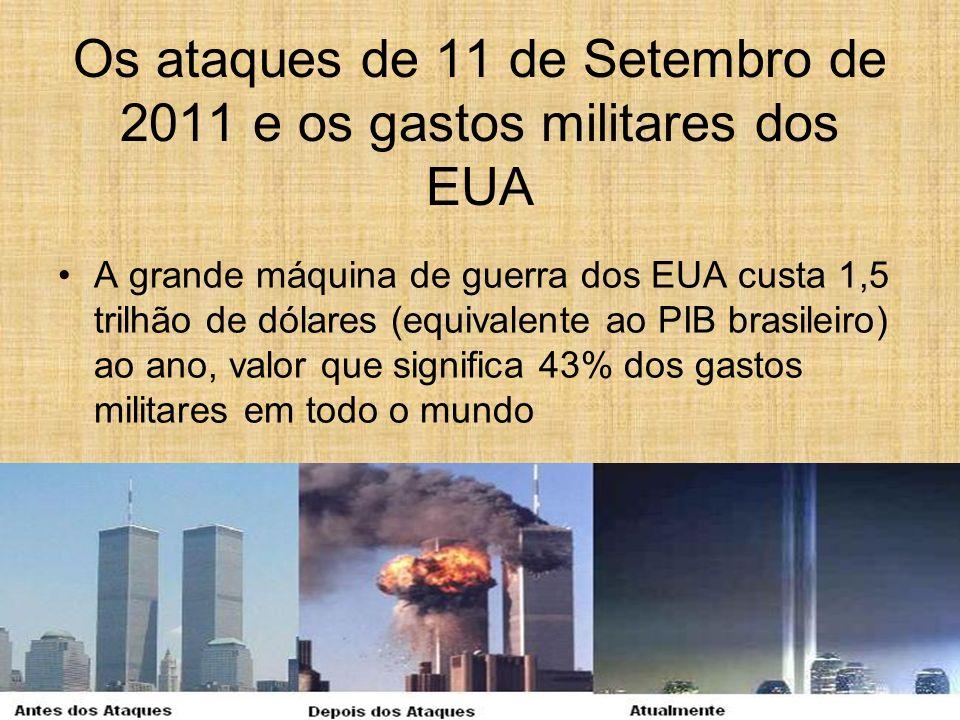 Os ataques de 11 de Setembro de 2011 e os gastos militares dos EUA