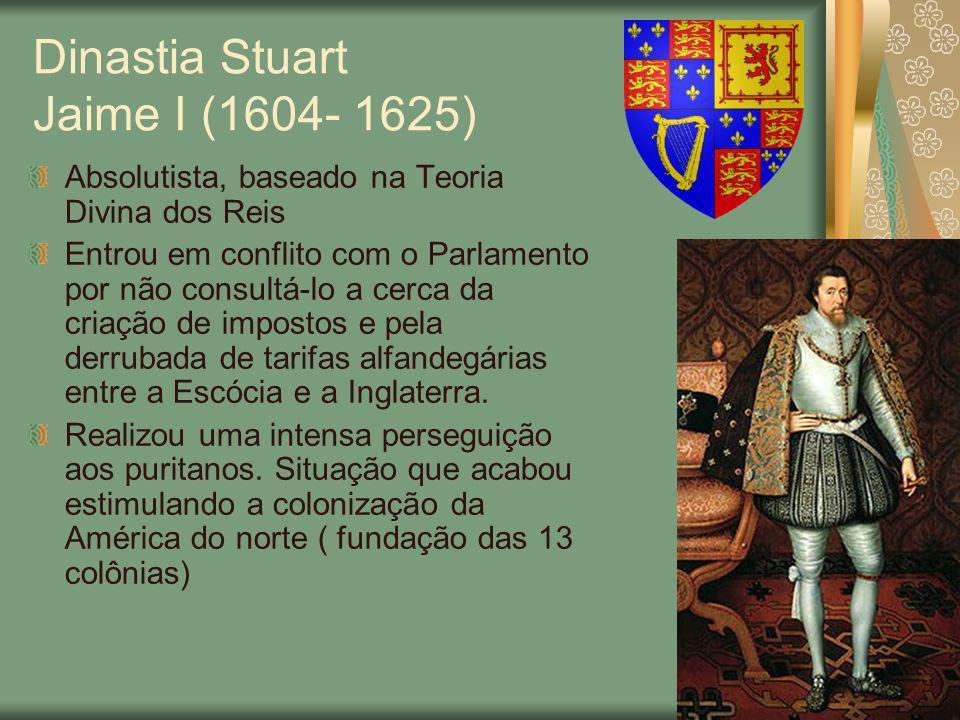 Dinastia Stuart Jaime I (1604- 1625)