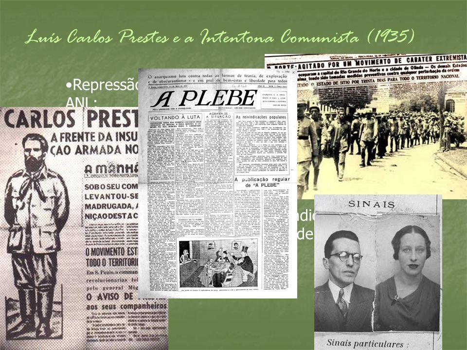 Luís Carlos Prestes e a Intentona Comunista (1935)