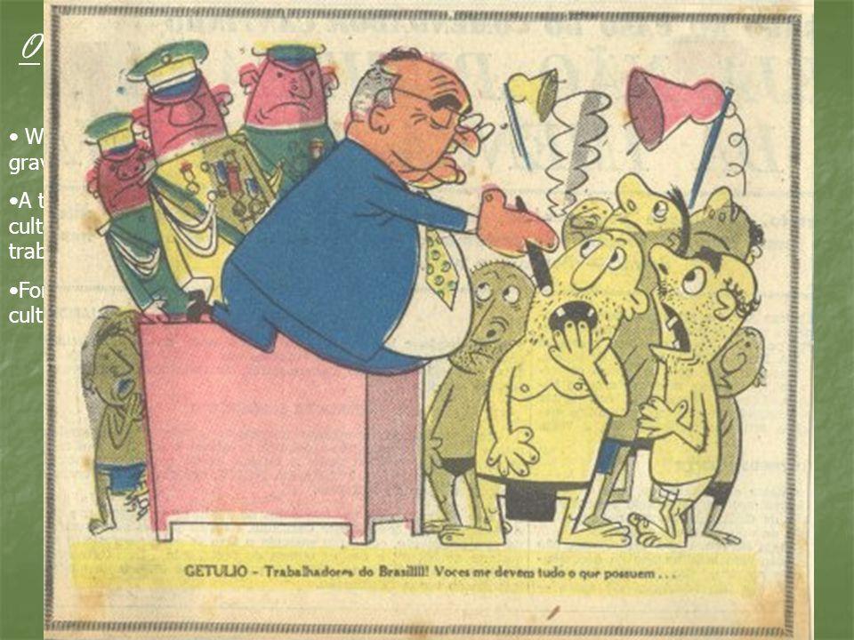 O samba desce o morro para cantar para os trabalhadores