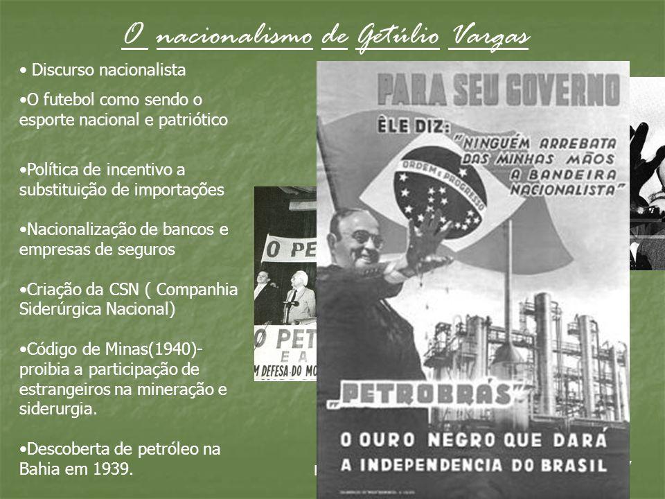O nacionalismo de Getúlio Vargas