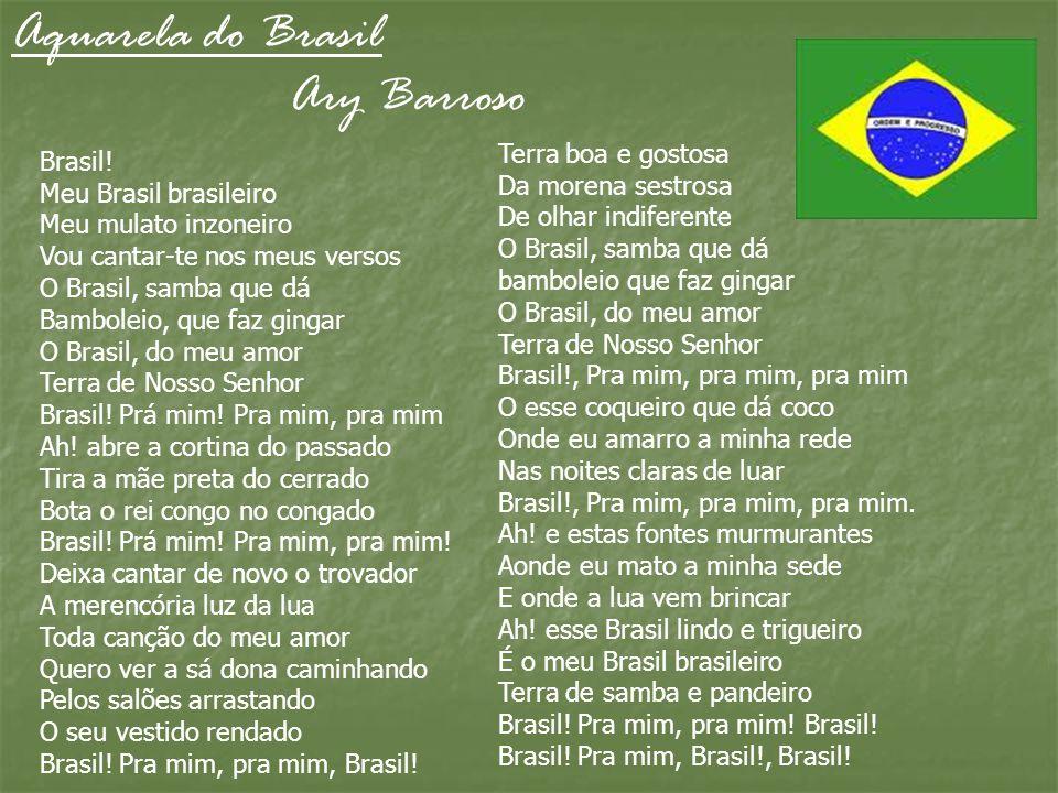 Aquarela do Brasil Ary Barroso