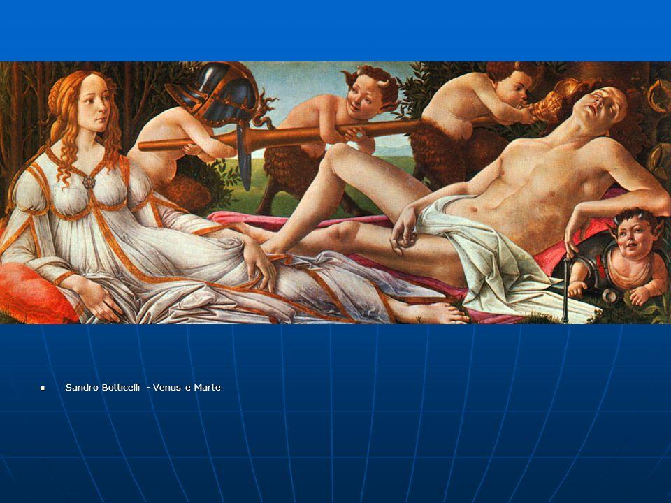 Sandro Botticelli - Venus e Marte