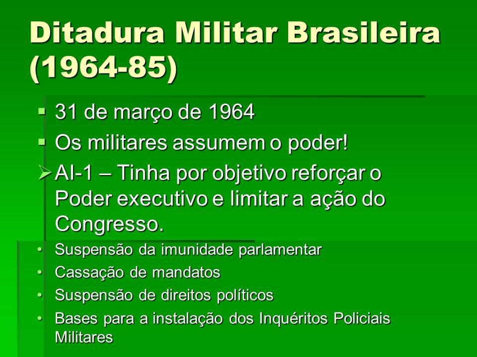 Ditadura Militar Brasileira (1964-85)