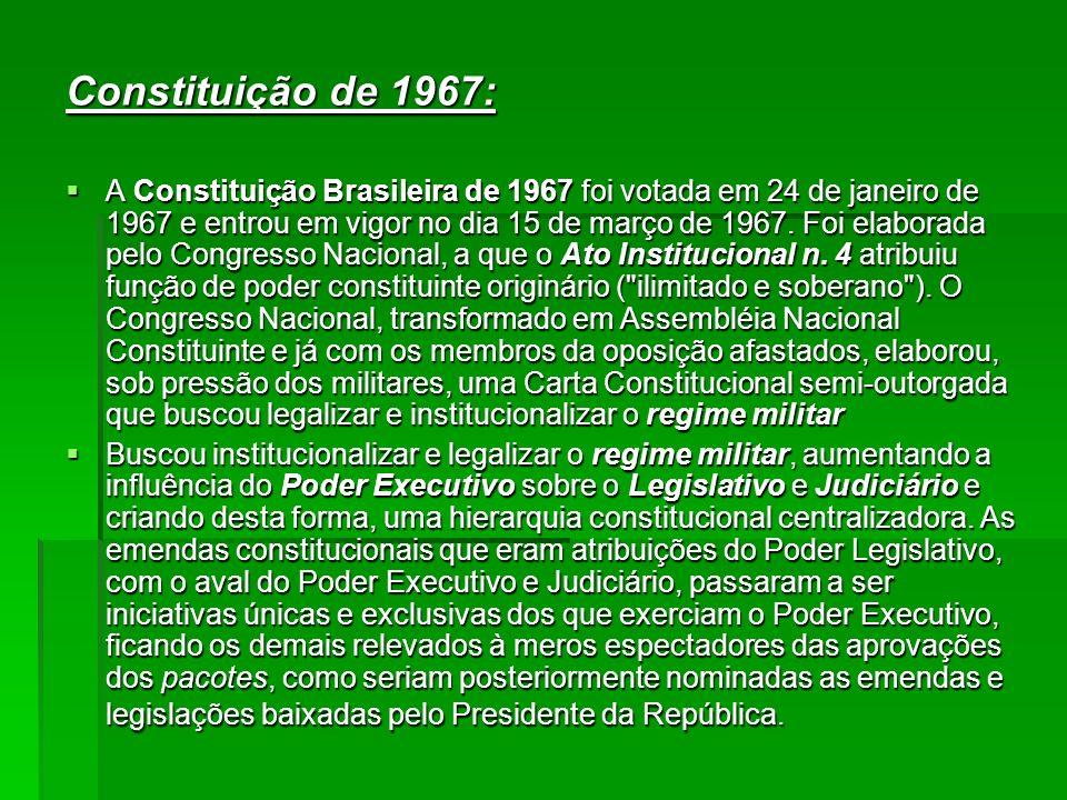 Constituição de 1967:
