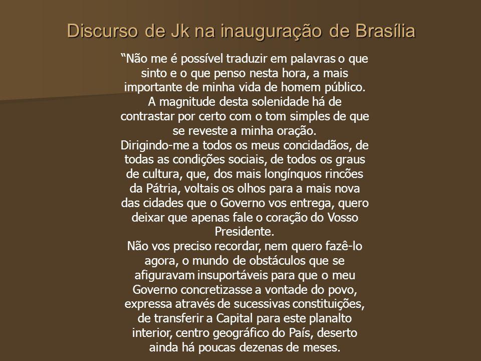 """Da Capital Do Progresso à Capital Da Corrupção"""""""