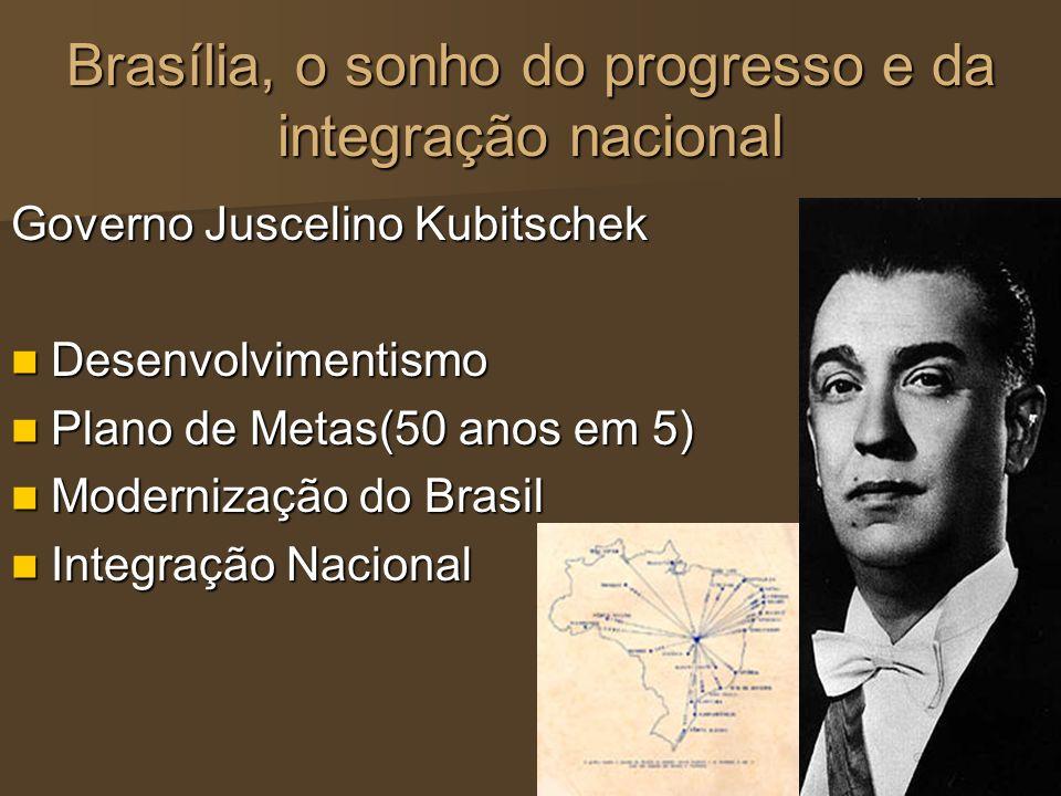 Brasília, o sonho do progresso e da integração nacional