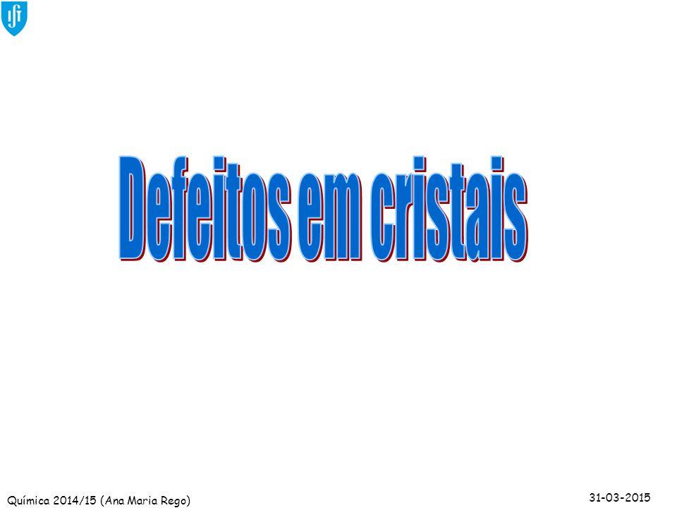 Defeitos em cristais
