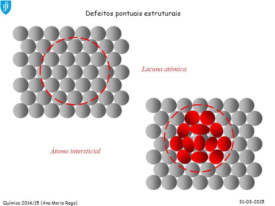 Defeitos pontuais estruturais