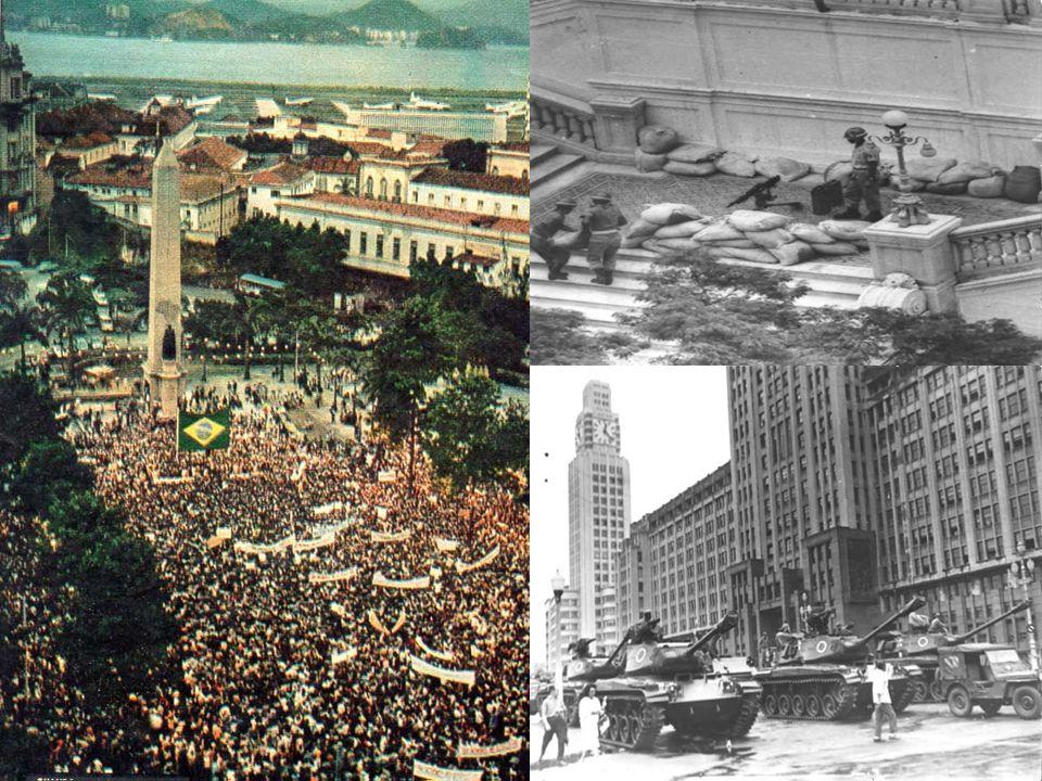 Em 1964 a família tradicional brasileira saiu às ruas contra a ameaça comunista, apoiando uma possível tomada de poder pelos militares. Agora o povo carioca saía para protestar contra a violência de uma ditadura cruel, que matou e torturou jovens e suas famílias. Quanta contradição!!!