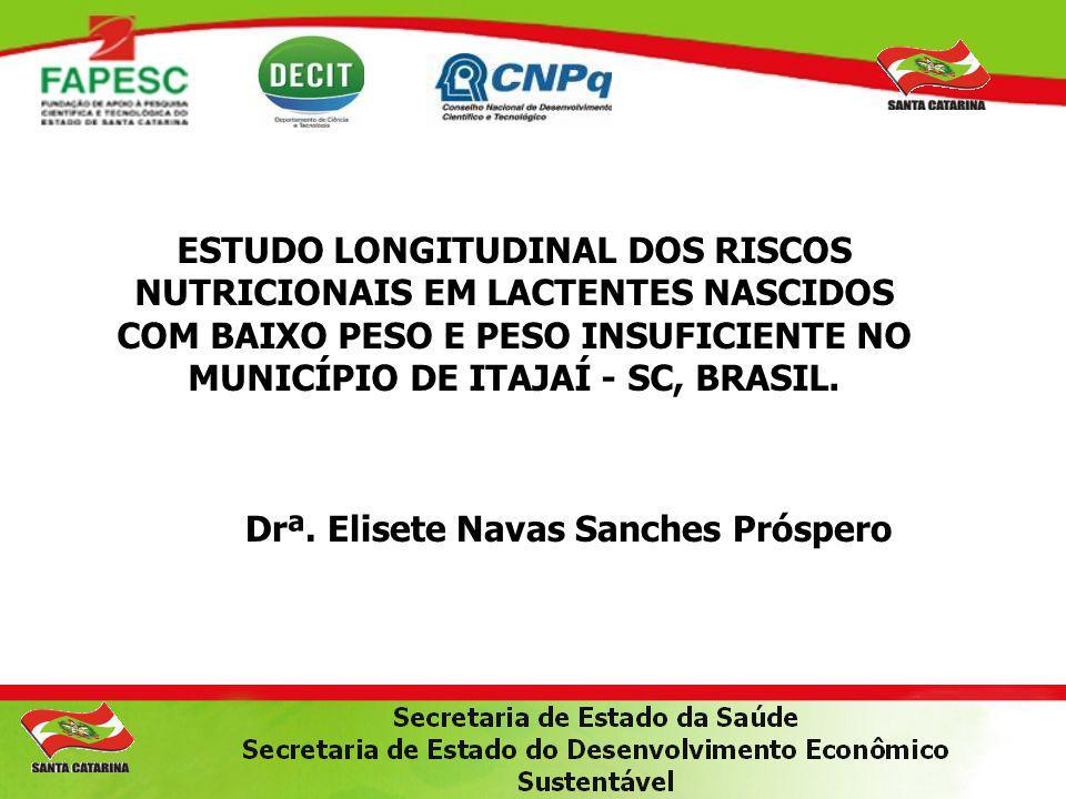 Drª. Elisete Navas Sanches Próspero