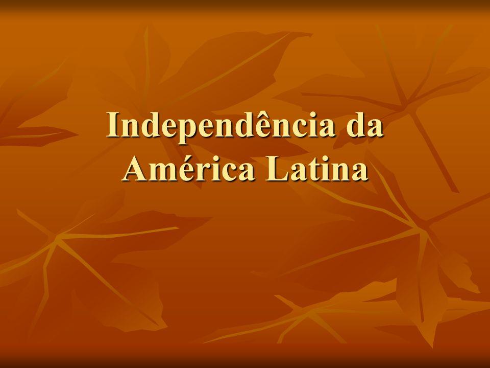 Independência da América Latina