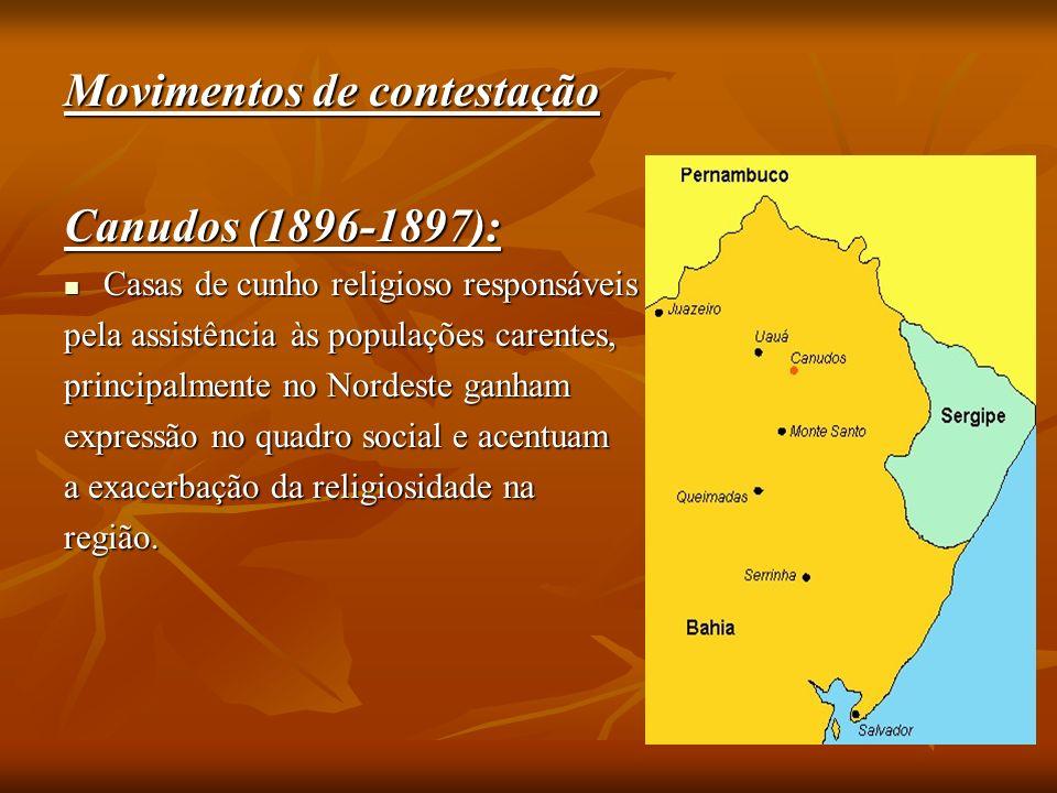 Movimentos de contestação Canudos (1896-1897):