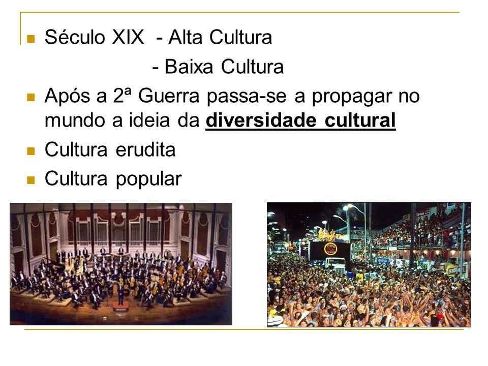 Século XIX - Alta Cultura