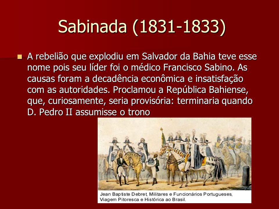 Sabinada (1831-1833)