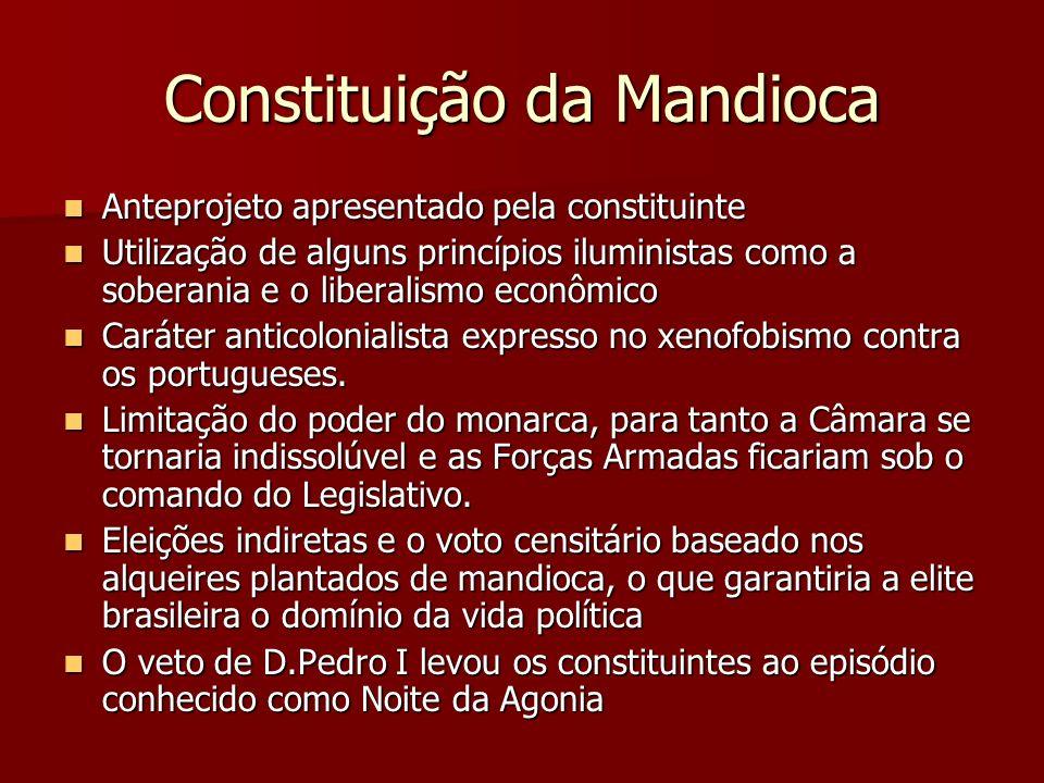 Constituição da Mandioca
