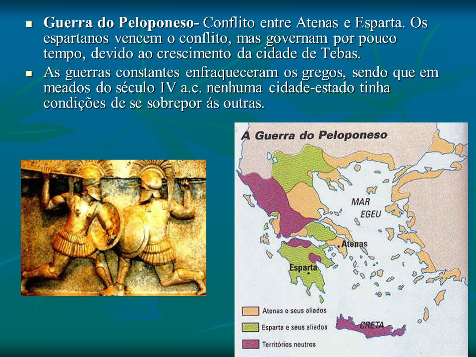 Guerra do Peloponeso- Conflito entre Atenas e Esparta