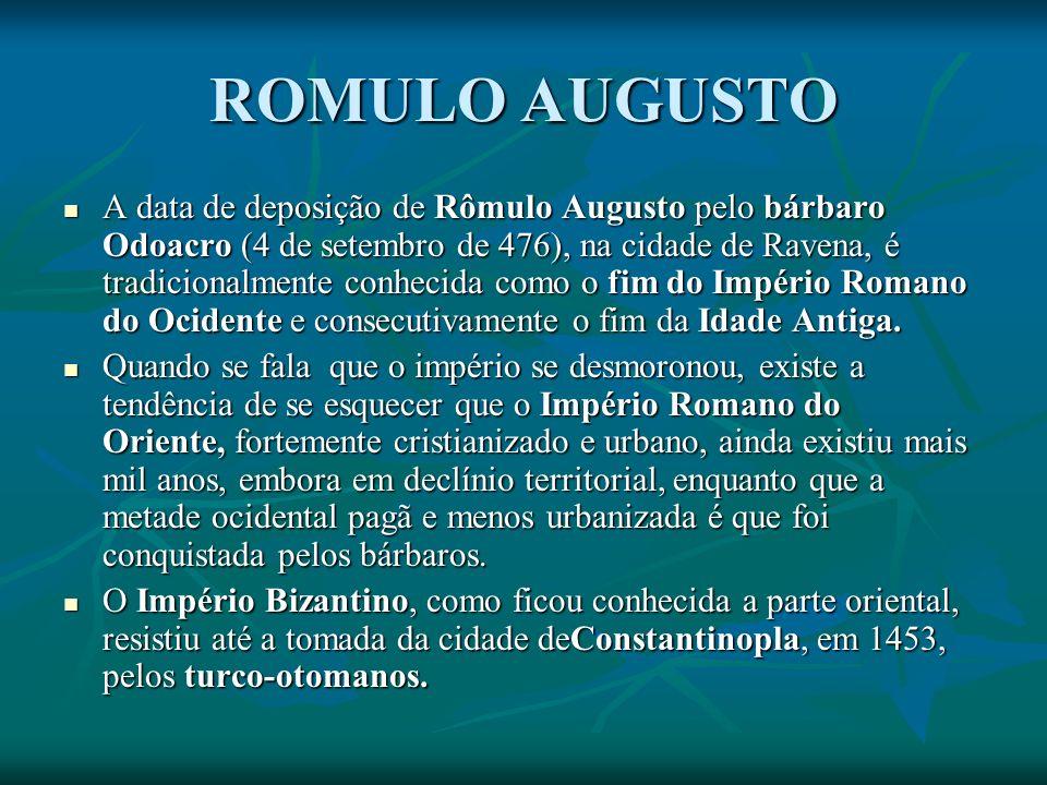 ROMULO AUGUSTO