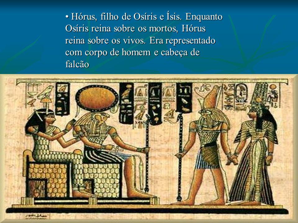 Hórus, filho de Osíris e Ísis