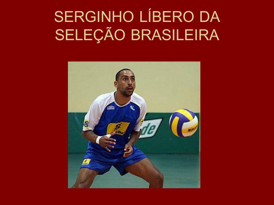 SERGINHO LÍBERO DA SELEÇÃO BRASILEIRA