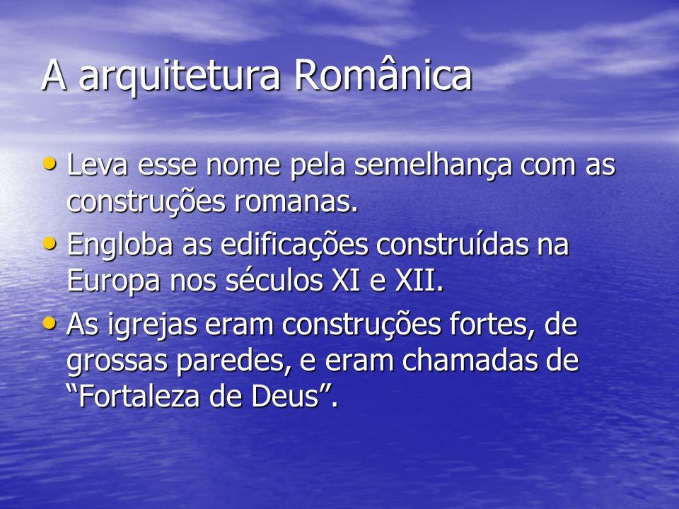 A arquitetura Românica