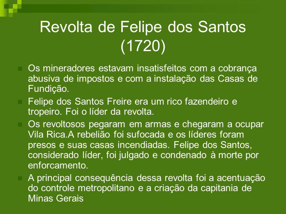 Revolta de Felipe dos Santos (1720)