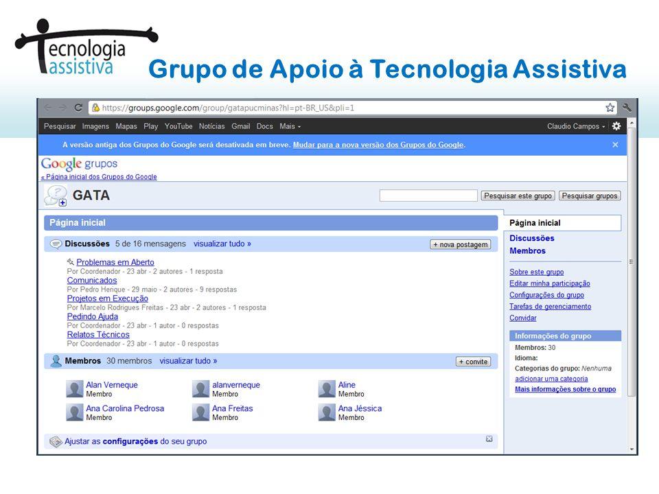 Grupo de Apoio à Tecnologia Assistiva
