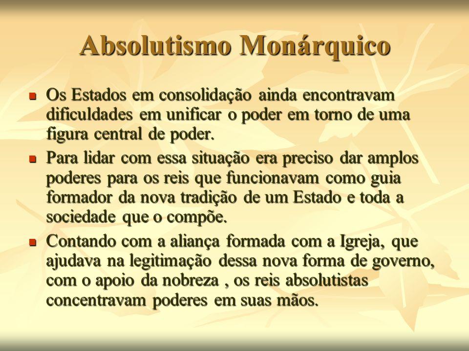 Absolutismo Monárquico