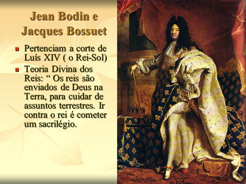Jean Bodin e Jacques Bossuet