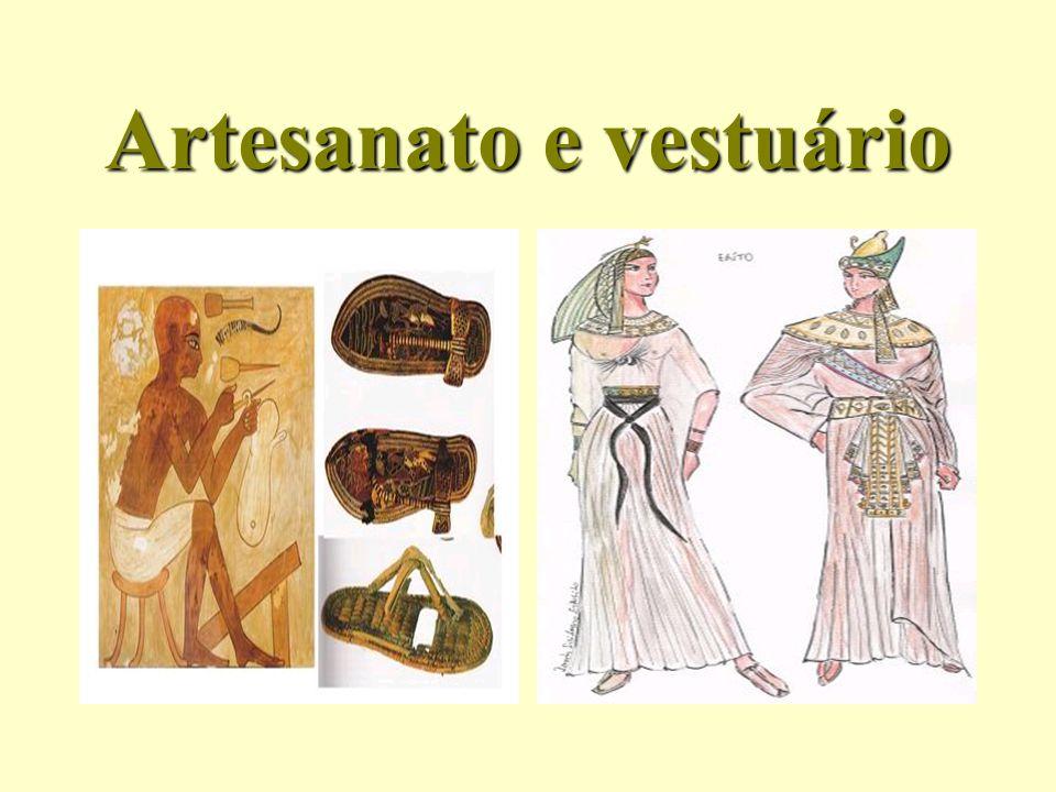 Artesanato e vestuário