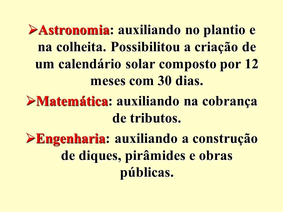 Matemática: auxiliando na cobrança de tributos.