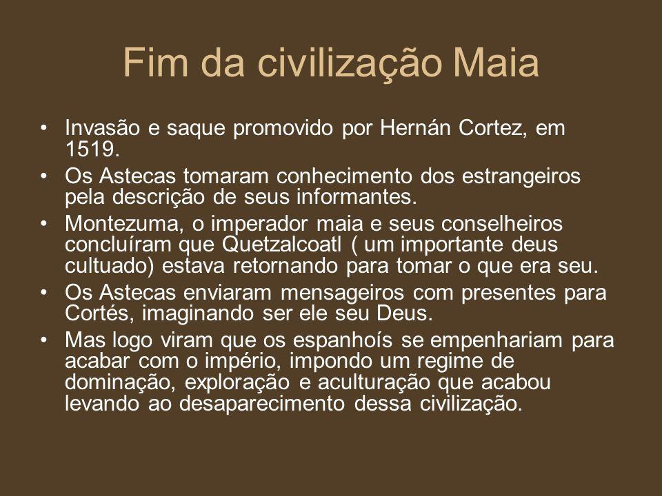 Fim da civilização Maia