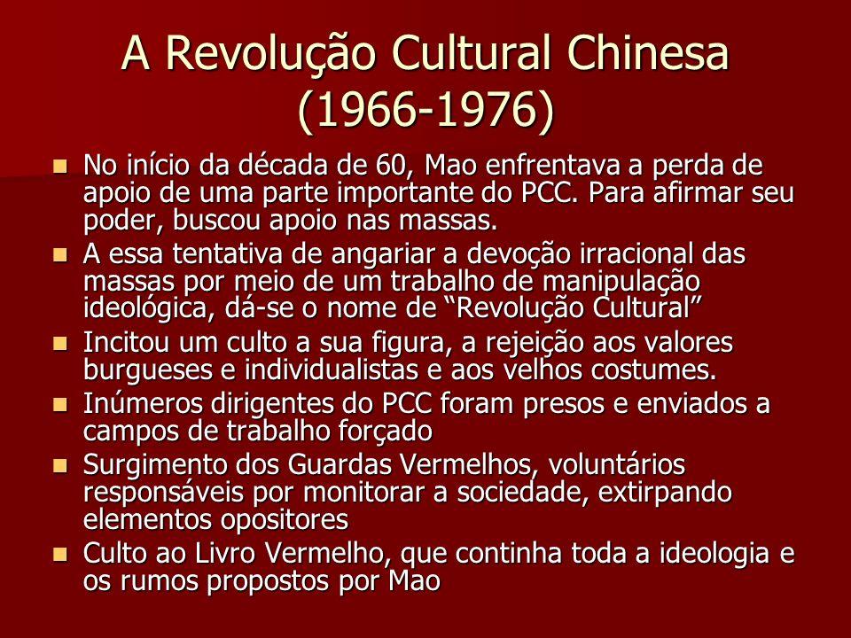 A Revolução Cultural Chinesa (1966-1976)