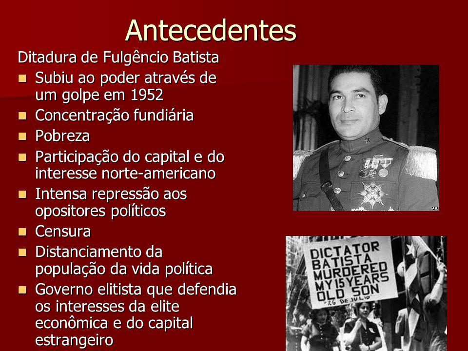 Antecedentes Ditadura de Fulgêncio Batista