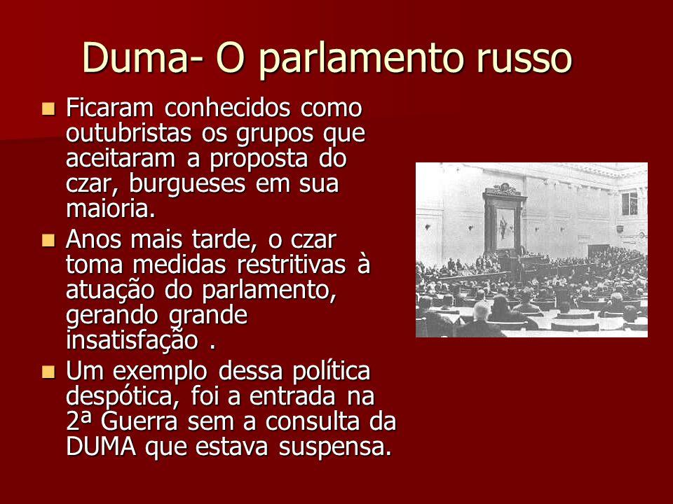 Duma- O parlamento russo