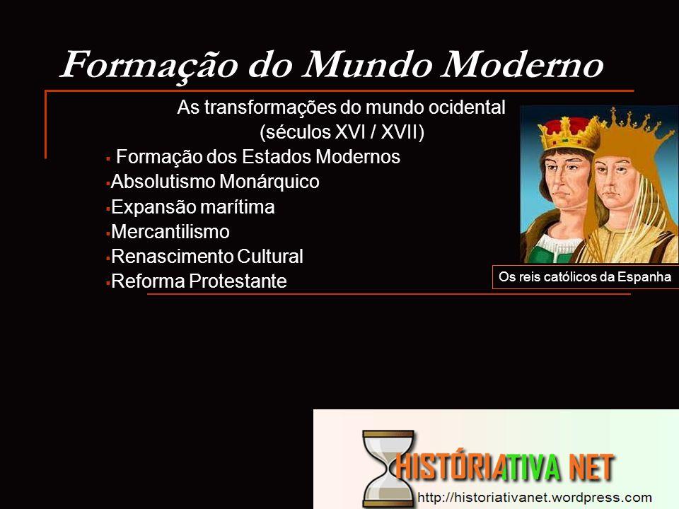 Formação do Mundo Moderno