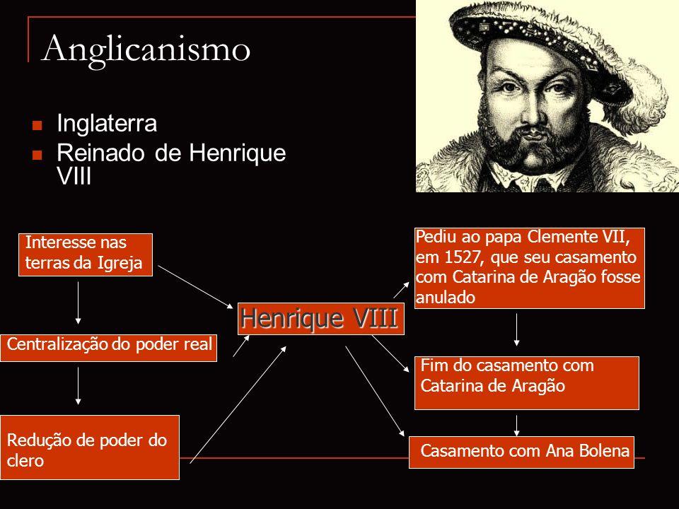 Anglicanismo Henrique VIII Inglaterra Reinado de Henrique VIII