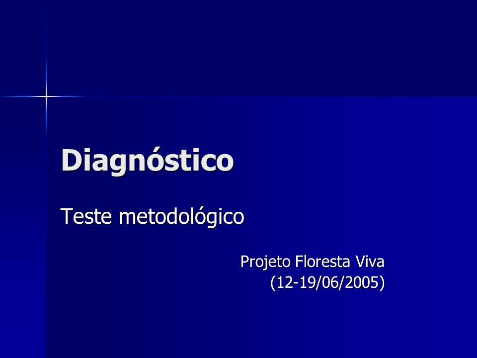 Teste metodológico Projeto Floresta Viva (12-19/06/2005)