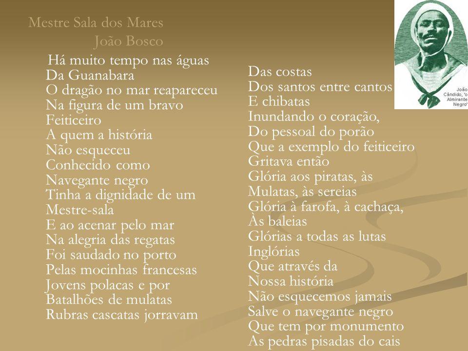 Mestre Sala dos Mares João Bosco.