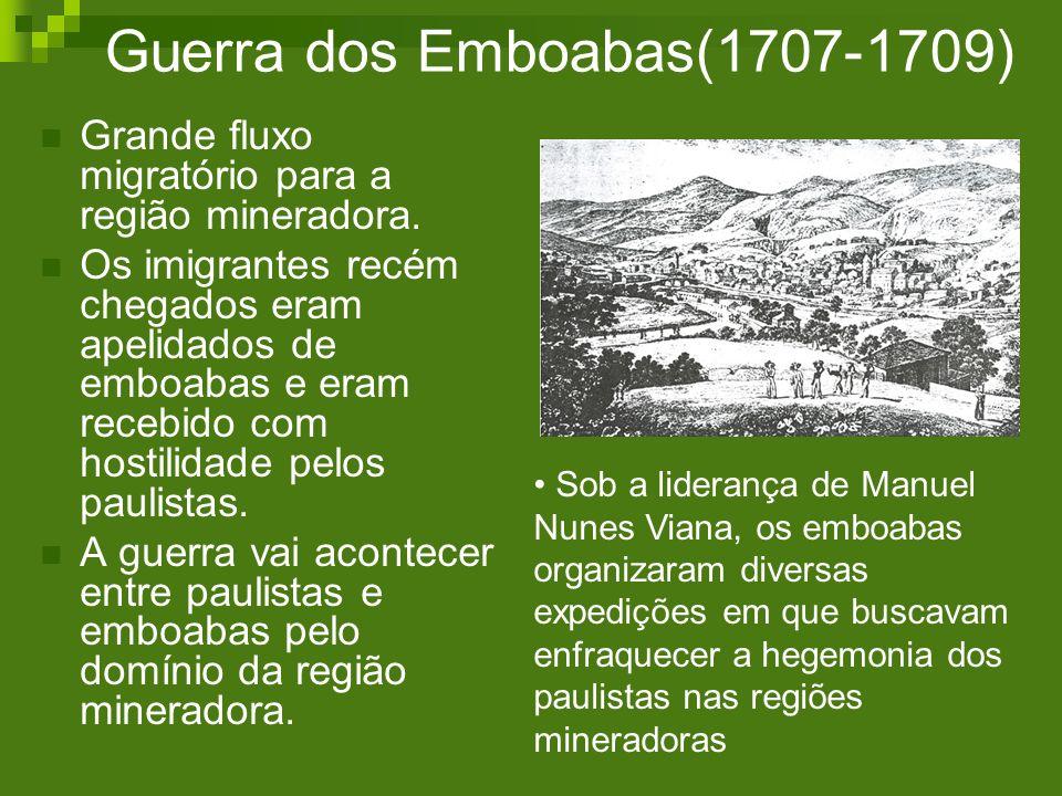 Guerra dos Emboabas(1707-1709)