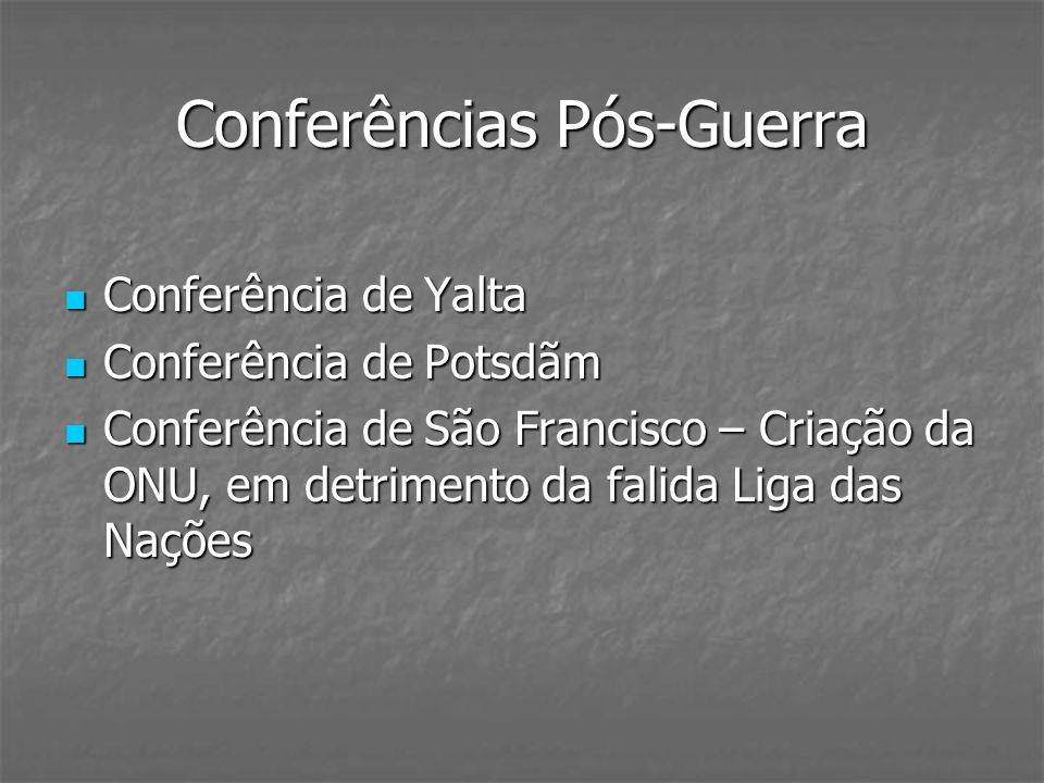Conferências Pós-Guerra