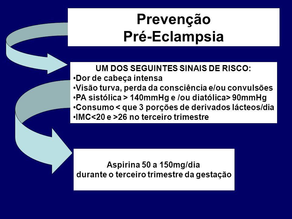 Prevenção Pré-Eclampsia