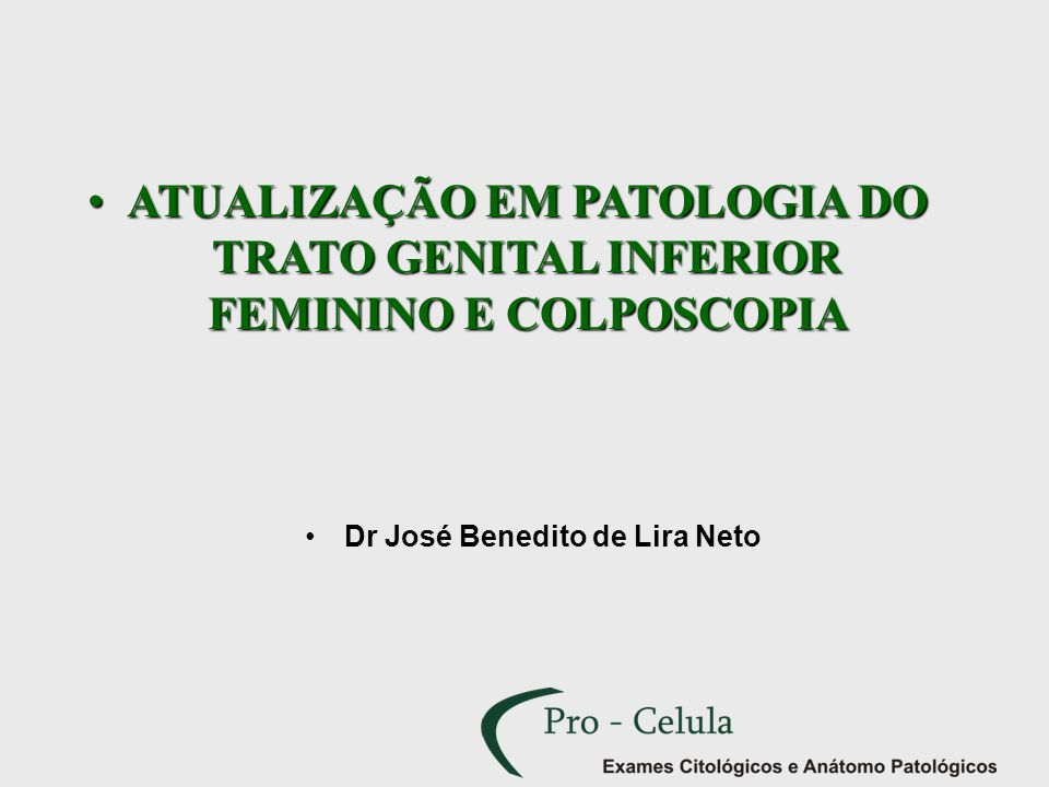 Dr José Benedito de Lira Neto
