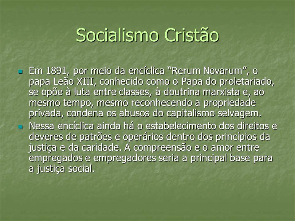 Socialismo Cristão