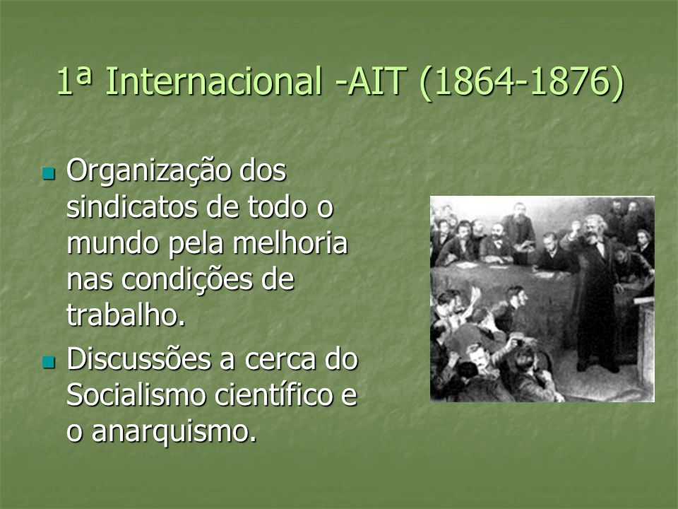 1ª Internacional -AIT (1864-1876)