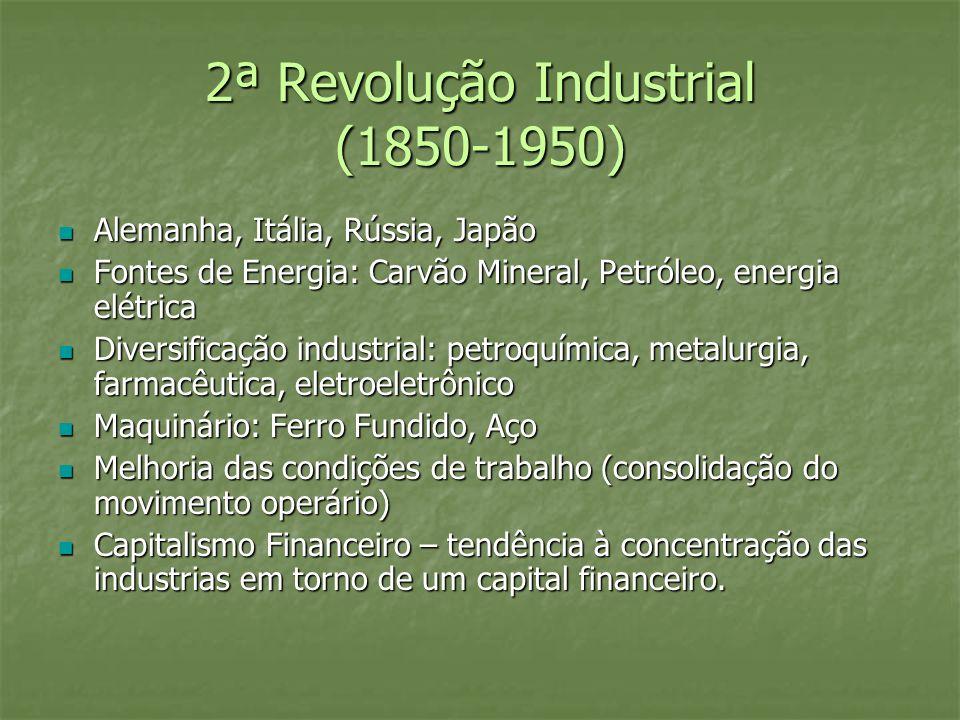 2ª Revolução Industrial (1850-1950)