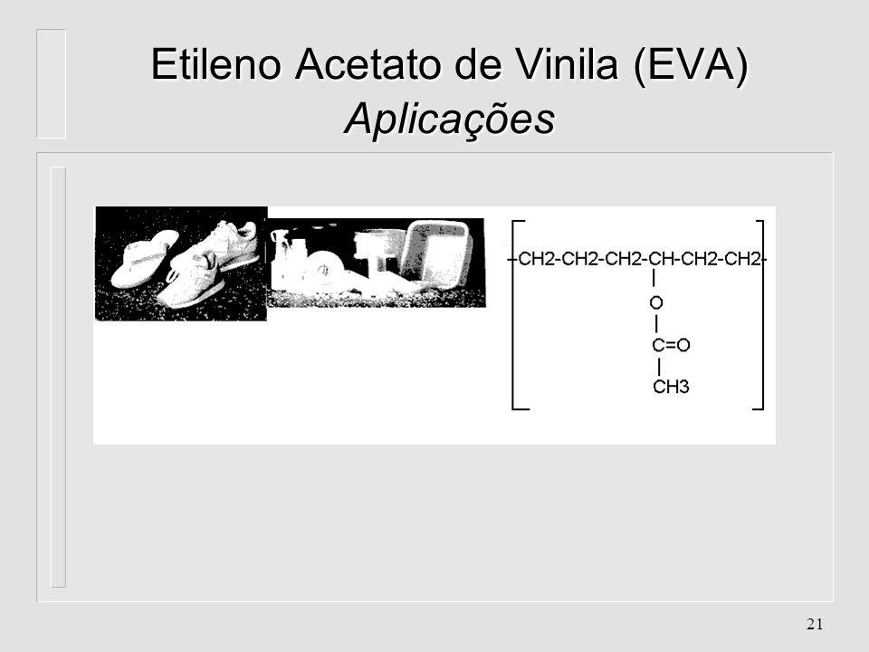 Etileno Acetato de Vinila (EVA) Aplicações