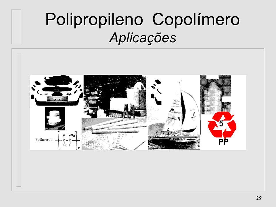 Polipropileno Copolímero Aplicações