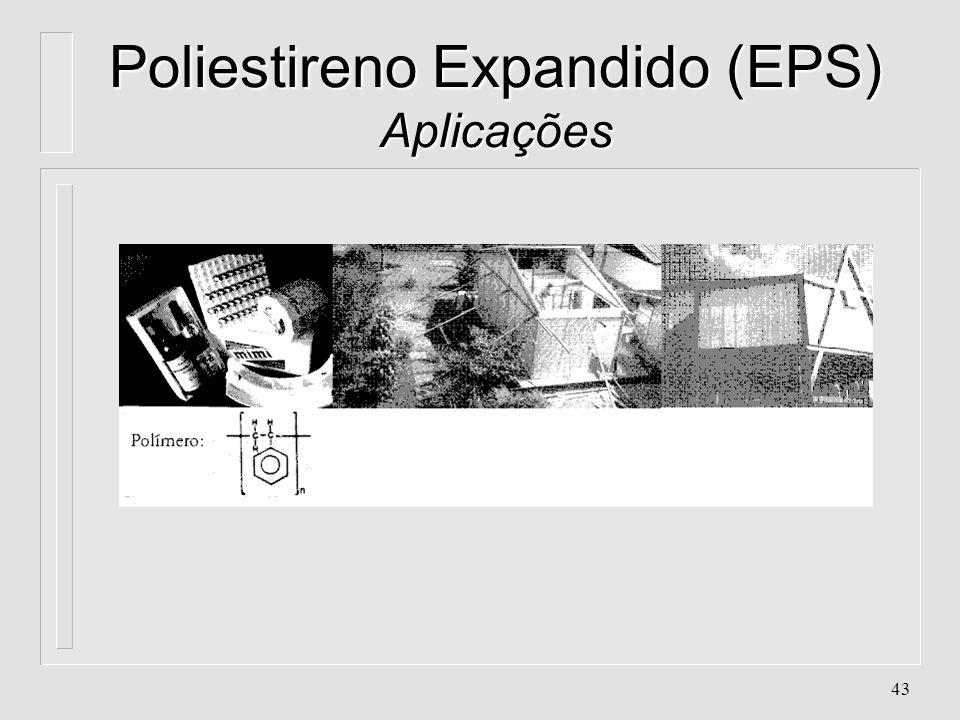 Poliestireno Expandido (EPS) Aplicações