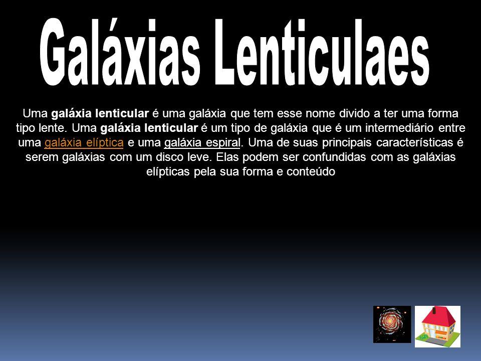 Galáxias Lenticulaes